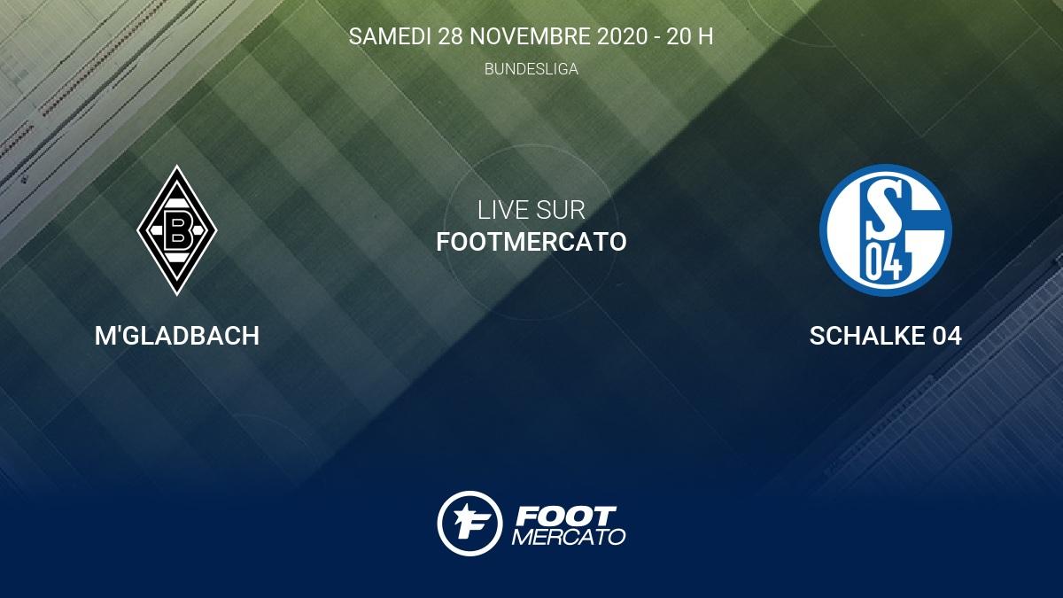Gladbach Schalke 2021