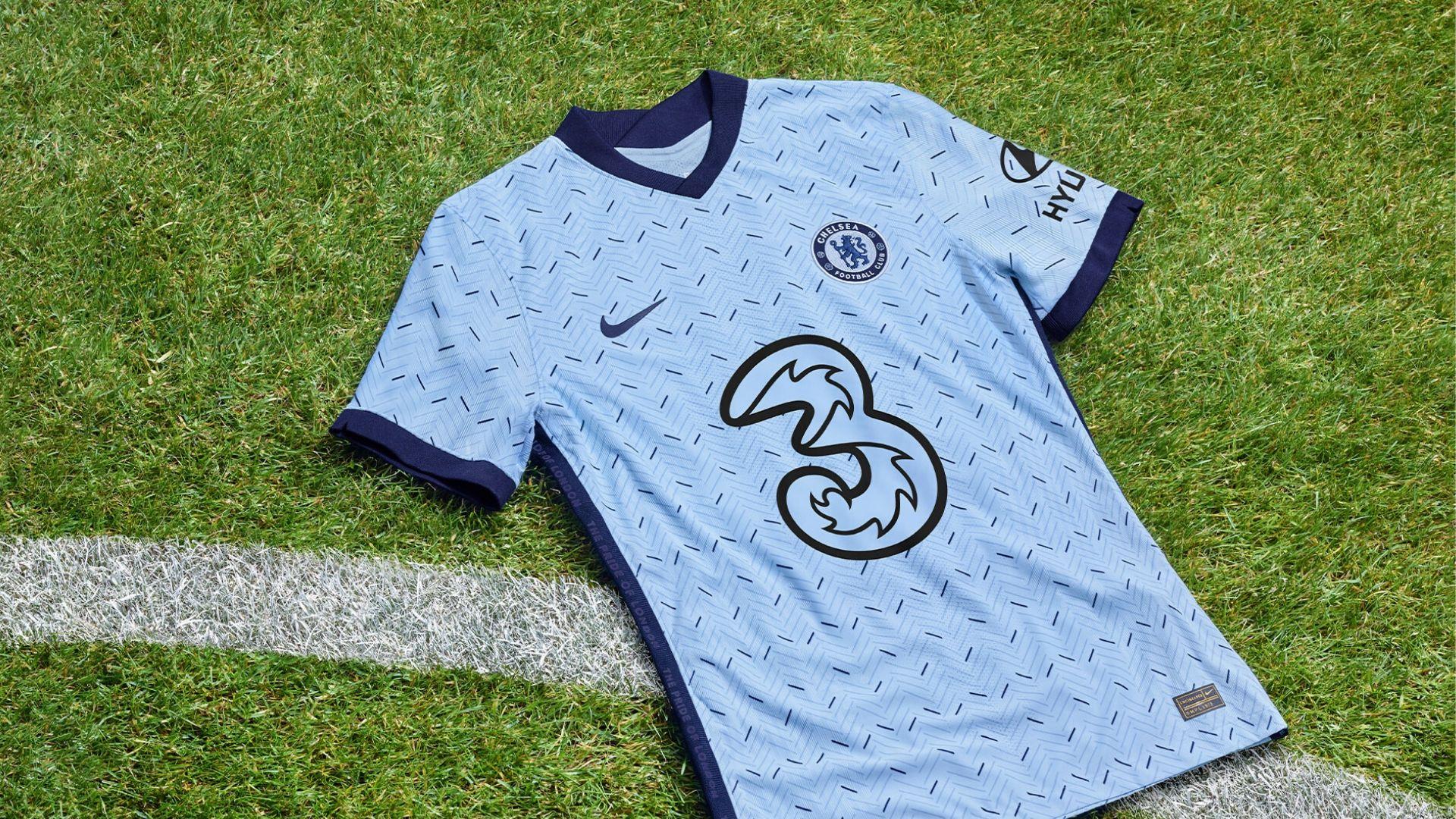 Le maillot extérieur de Chelsea 2020 2021 dévoilé
