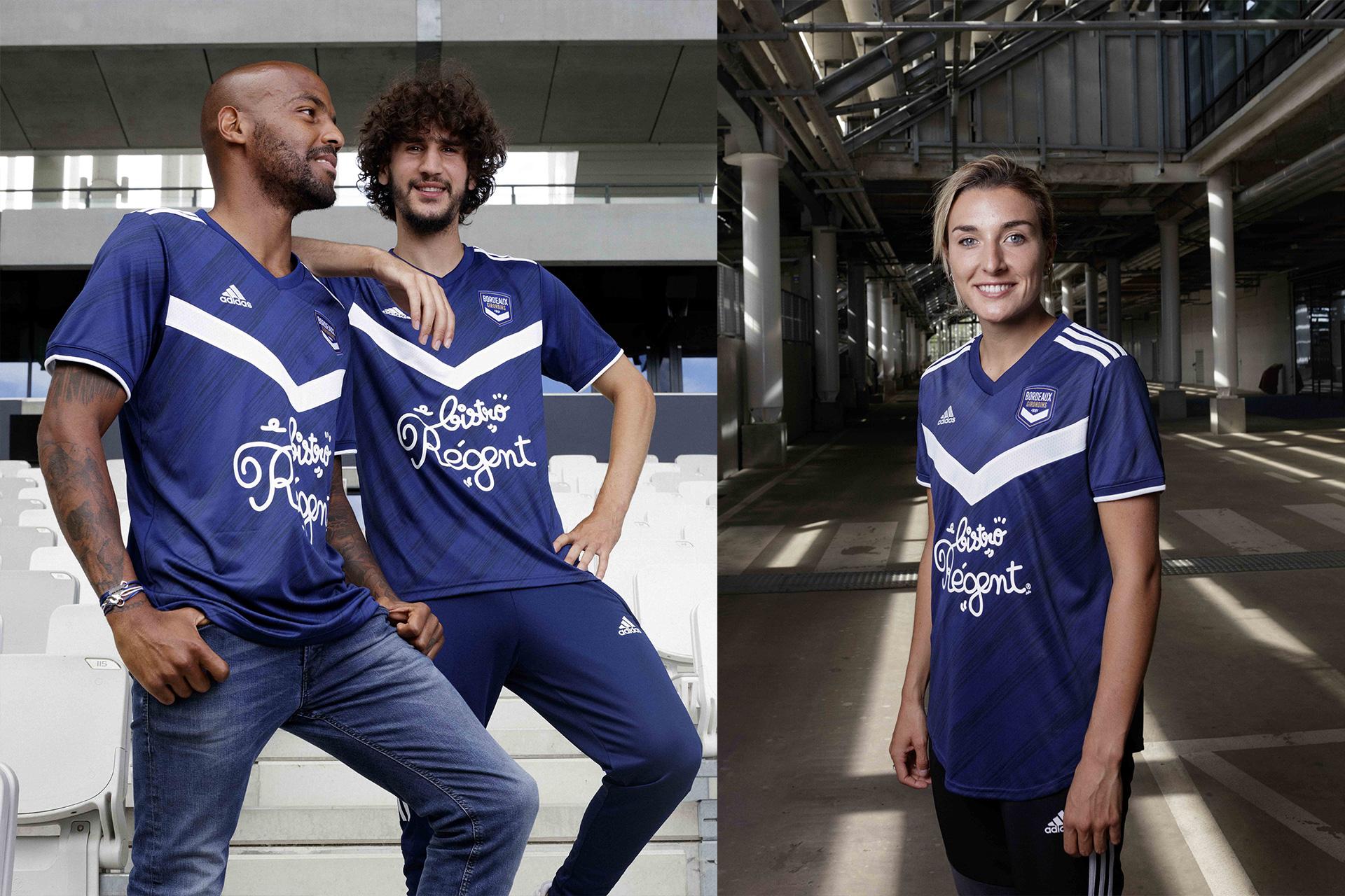 Le nouveau maillot de Bordeaux — PHOTOS