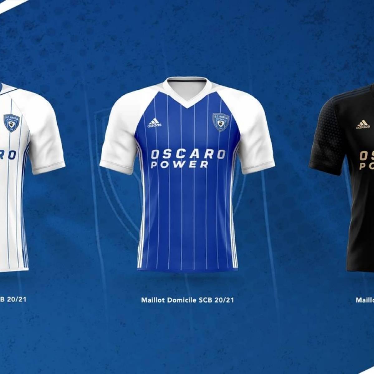Le SC Bastia dévoile ses nouveaux maillots pour la saison
