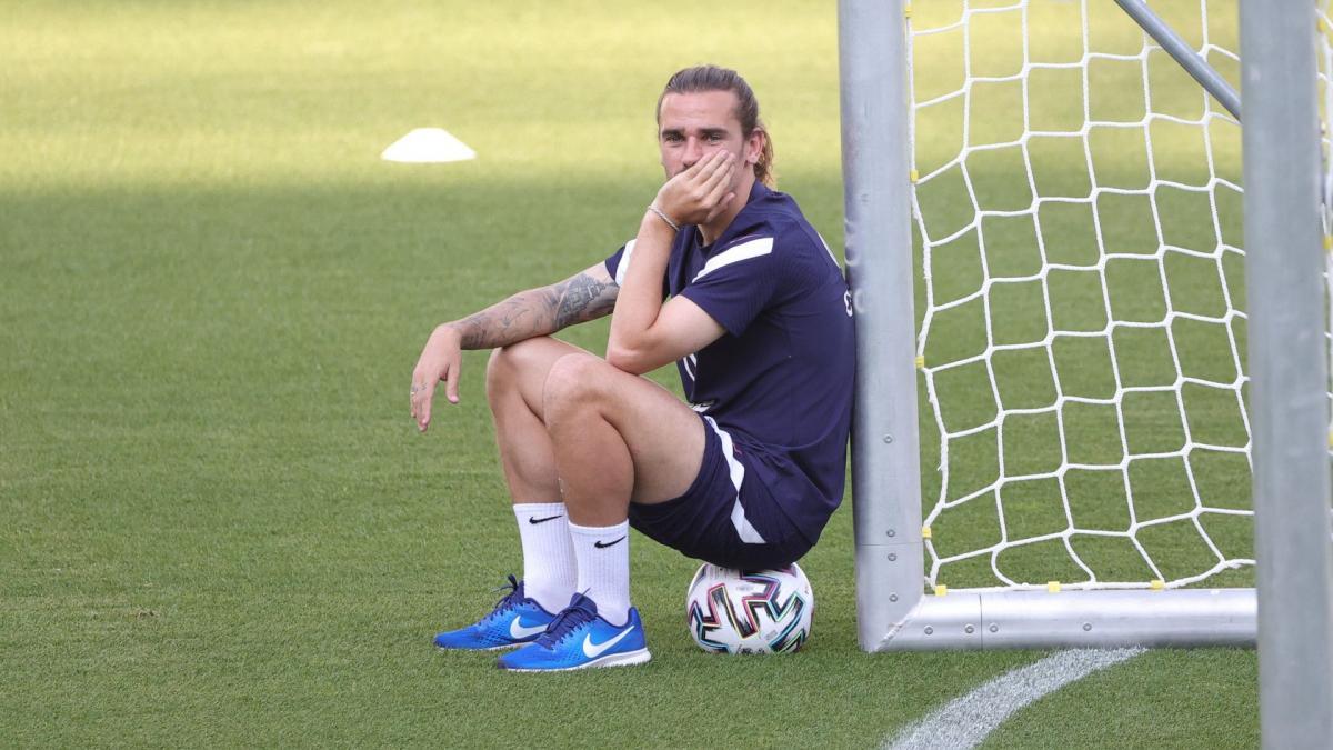 Antoine Griezmann ne voudrait pas reprendre l'entraînement avec le FC Barcelone !