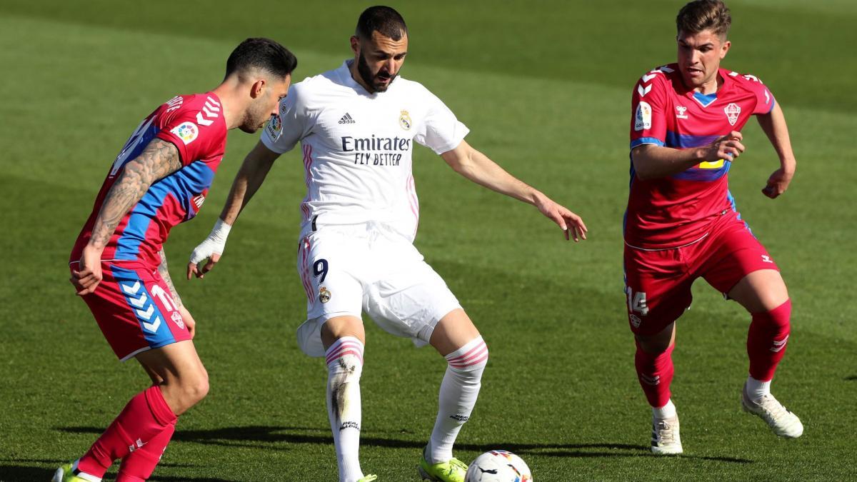 Real Madrid-Elche : la réaction à chaud de Karim Benzema - Foot Mercato