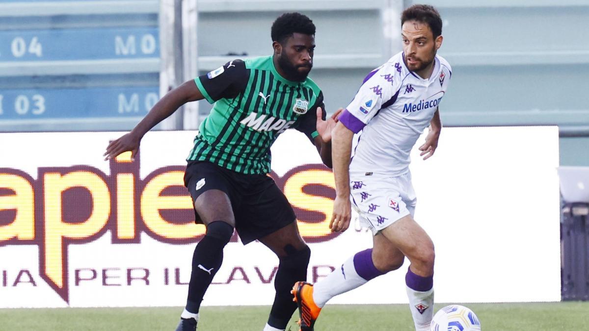 Serie A : Sassuolo renverse la Fiorentina