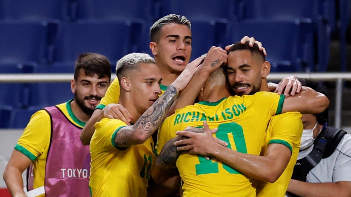 JO : le Brésil bat le Mexique et pourra défendre son titre olympique