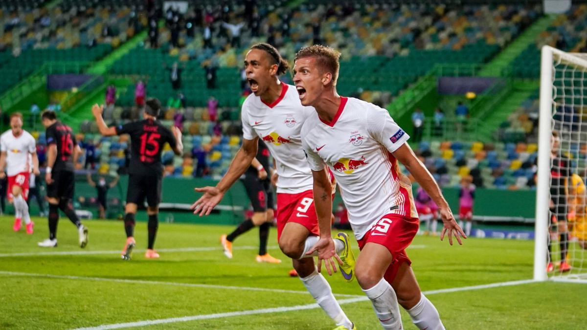 Dani Olmo avec le RB Leipzig