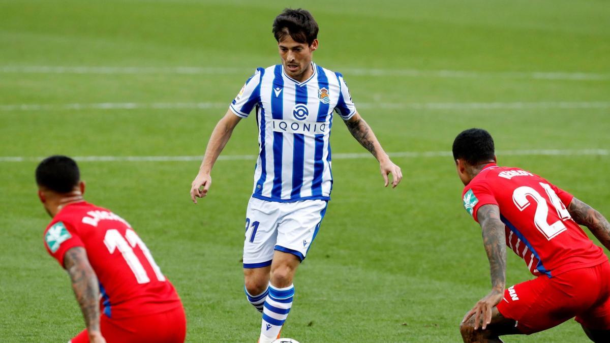 Real Sociedad : David Silva stoppé net