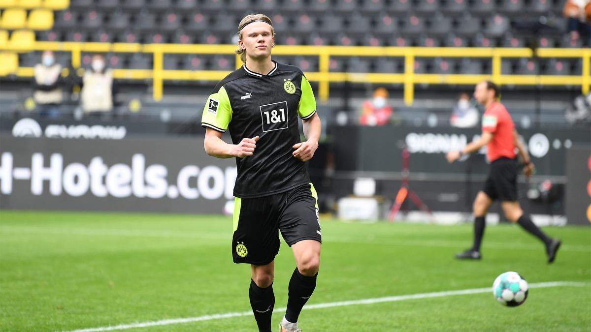 Le Borussia Dortmund a reçu une offre stratosphérique pour Erling Haaland