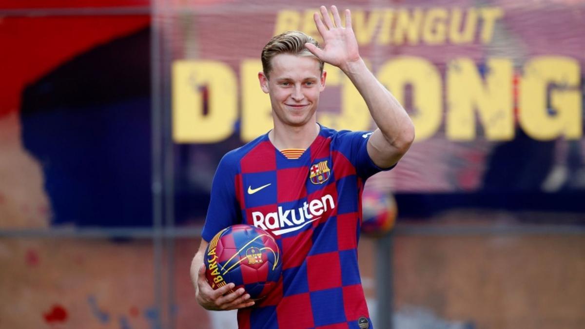 Frenkie de Jong jure fidélité au FC Barcelone
