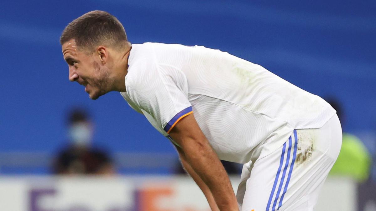 Real Madrid : Eden Hazard, ça ne s'arrange pas