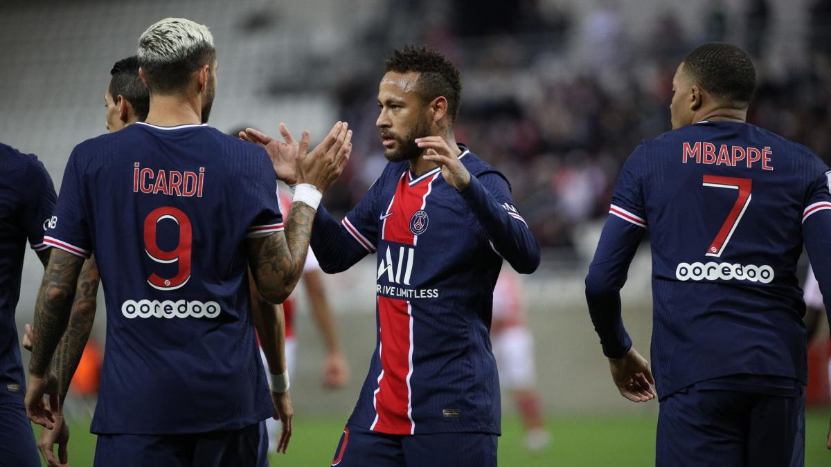 PSG : première pour Neymar