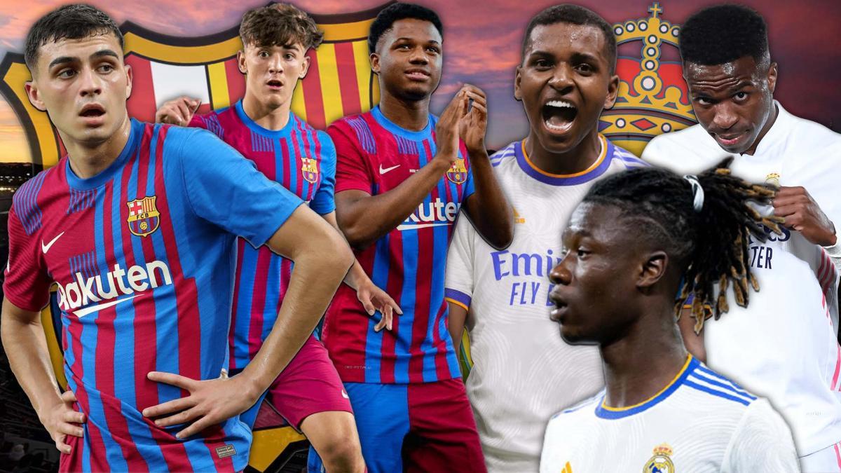 FC Barcelone - Real Madrid : la guerre des jeunes est lancée !