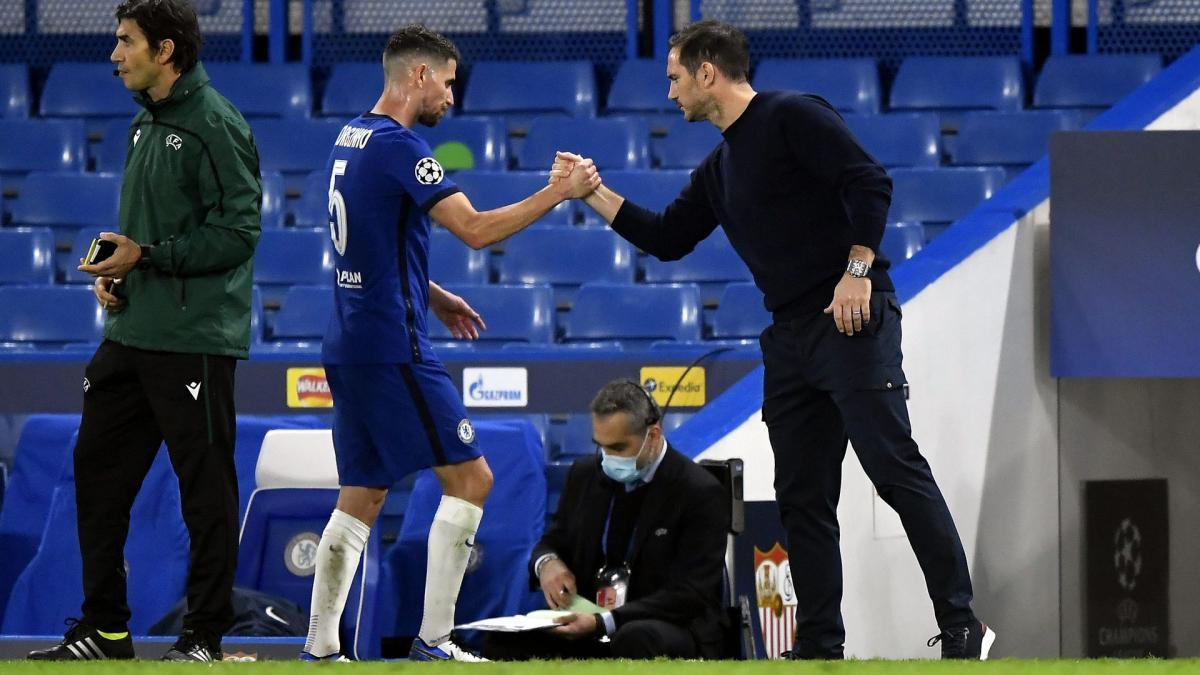 Frank Lampard n'avait pas le niveau pour diriger Chelsea selon Jorginho