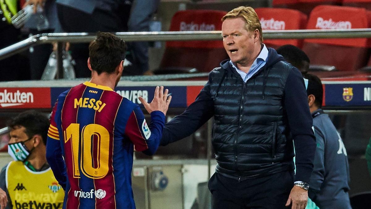 Dossier Messi : Ronald Koeman répond à Leonardo