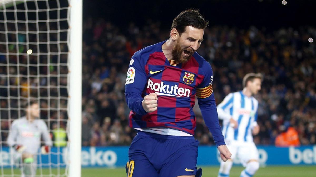 Joan Laporta confiant pour la prolongation de Lionel Messi