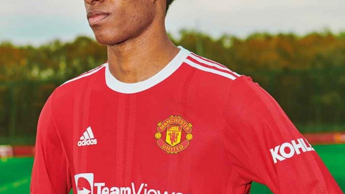 Adidas dévoile le maillot domicile de Manchester United pour la saison 2021-2022