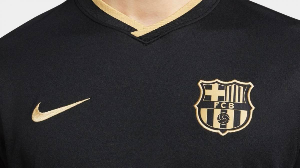 Fc Barcelona Unveil Black And Gold Away Jersey For 2020 21 Kenyan News