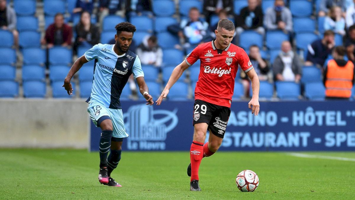 Ligue 2 : Caen et le Paris FC déroulent, Toulouse accroché par Ajaccio