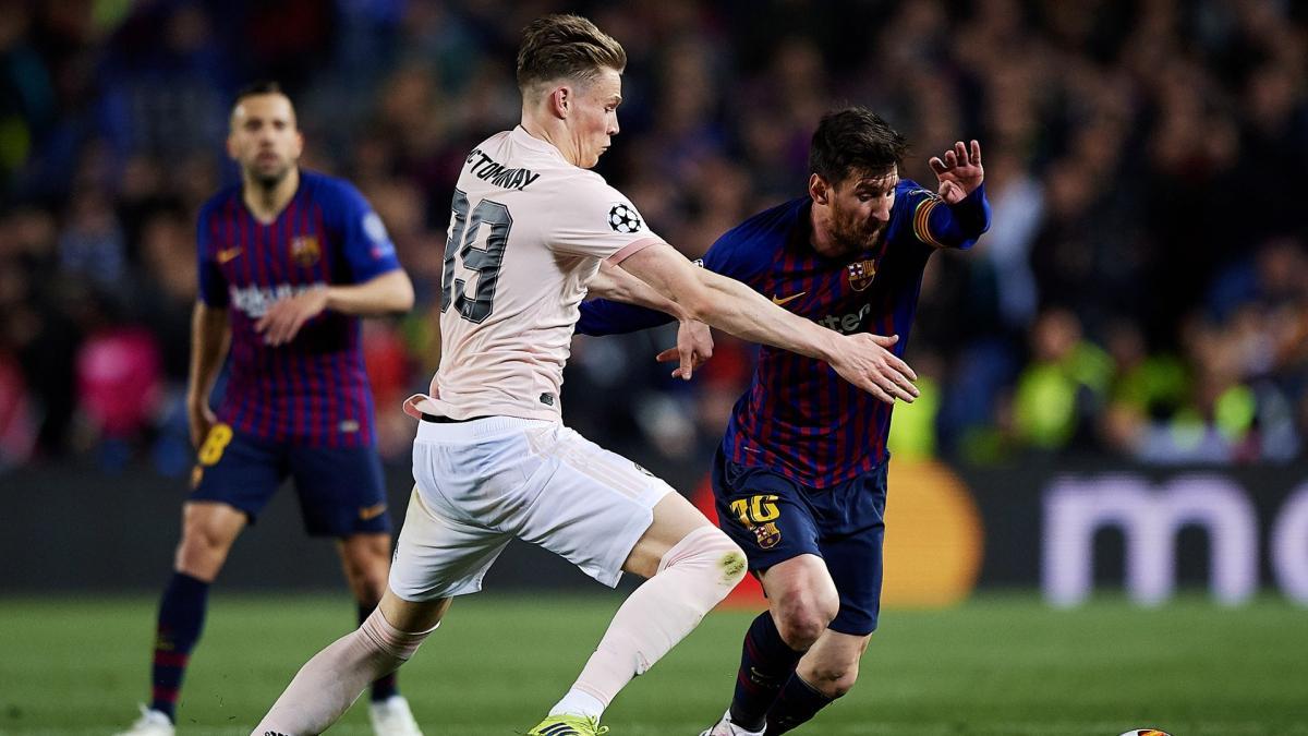Quand Lionel Messi refuse de donner son maillot à Scott McTominay
