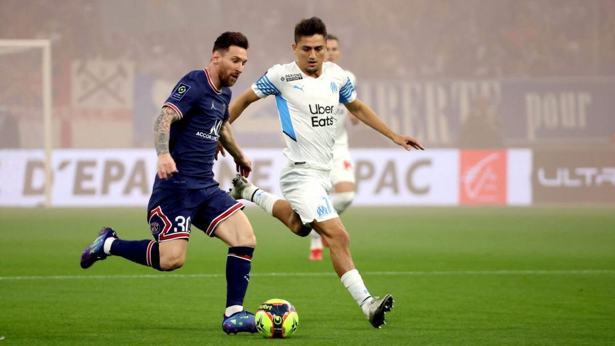 Ligue 1 : dans une ambiance électrique, l'OM et le PSG se quittent dos à dos