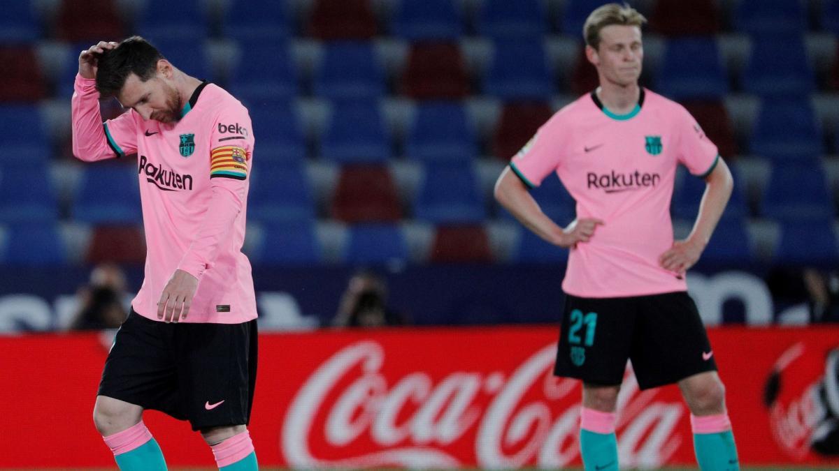 Liga : le FC Barcelone, piégé à Levante après un match de folie, s'éloigne du titre
