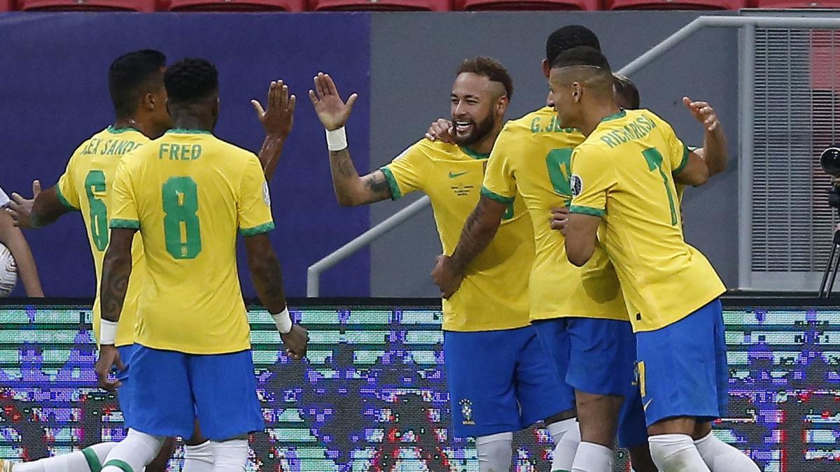 Copa America, Brésil : Tite s'enflamme pour Neymar