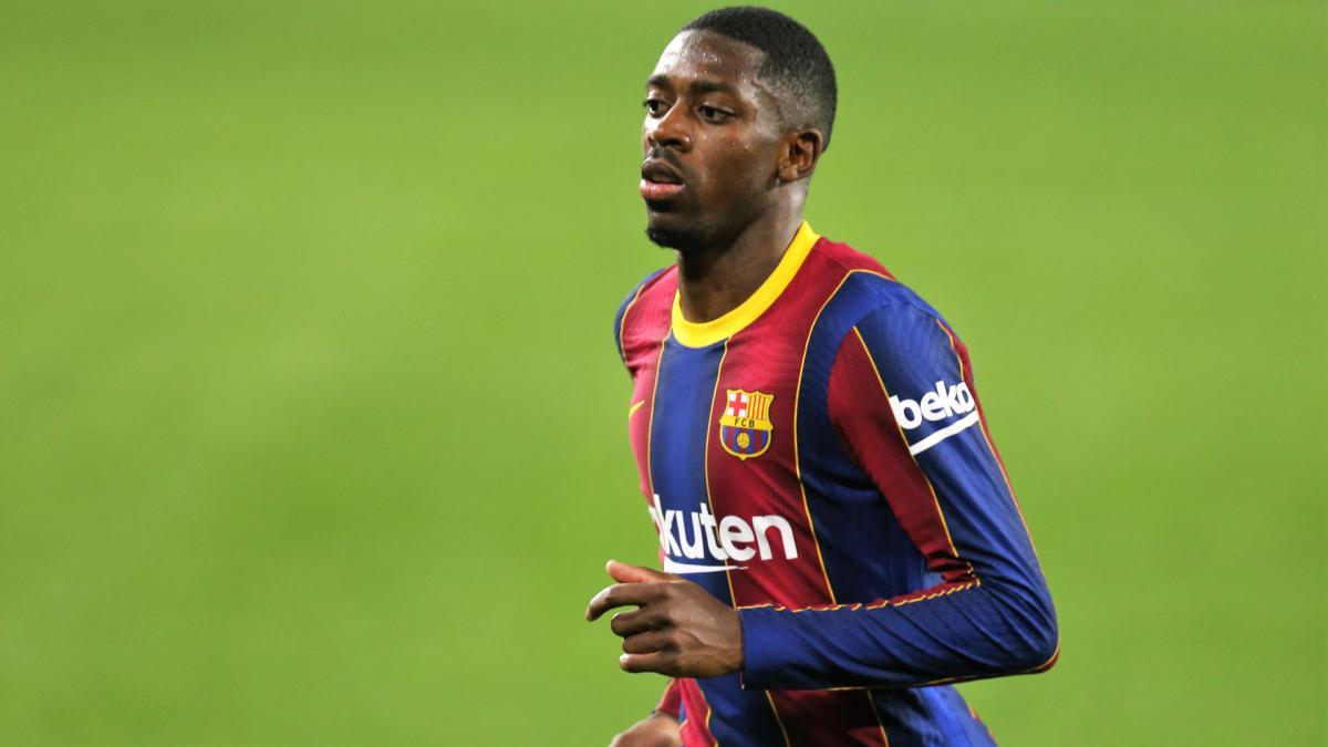 Joan Laporta confiant pour l'avenir d'Ousmane Dembélé et Ansu Fati au Barça