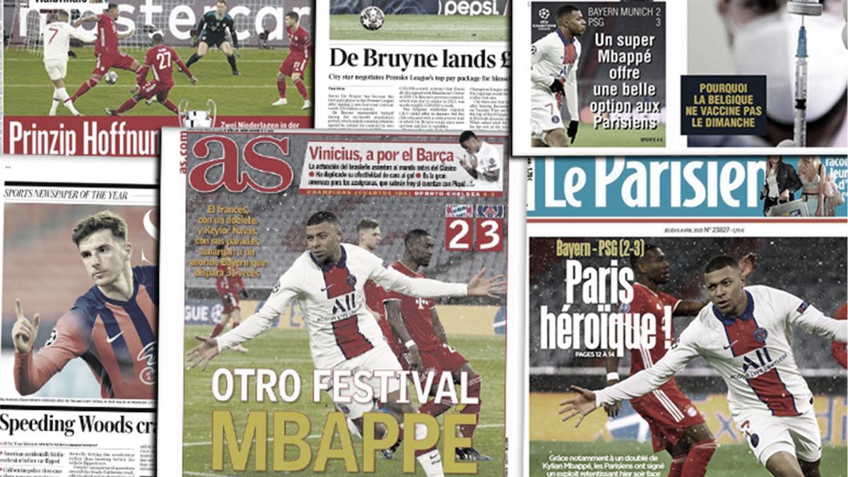 La masterclass de Kylian Mbappé avec le PSG régale la presse européenne, le montant astronomique du nouveau contrat de Kevin de Bruyne