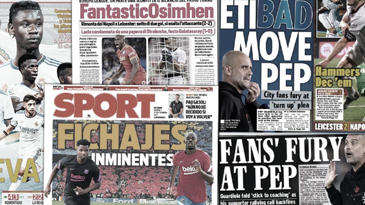 Les fans de Manchester City sont furieux contre Pep Guardiola, les 2 recrues de dernière minute du Barça