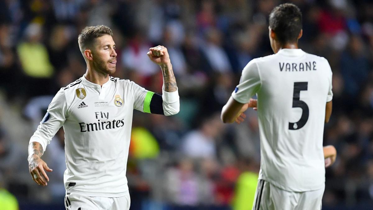 Des changements de numéro prévus au Real Madrid