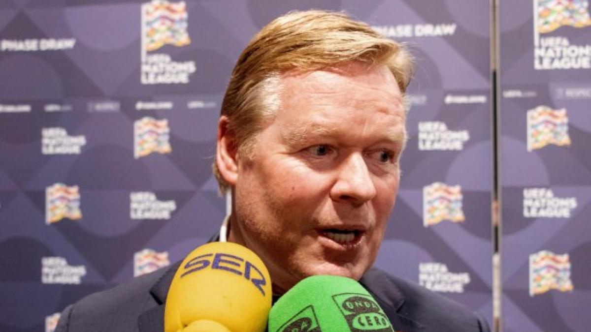 Barça : ce qu'a dit Ronald Koeman à l'arbitre du Clasico
