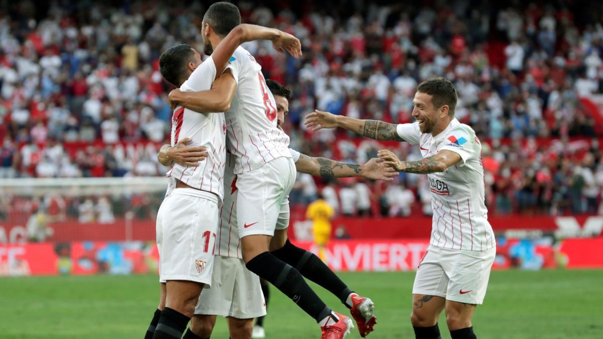 Séville surclasse Valence, l'Espanyol bat Alavés