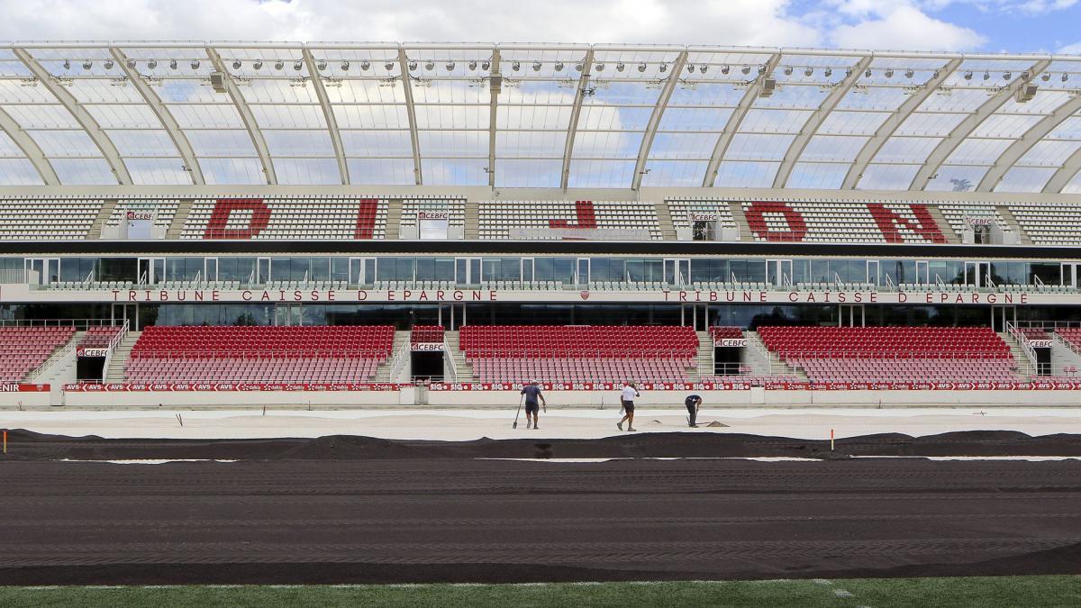 Le stade de Dijon