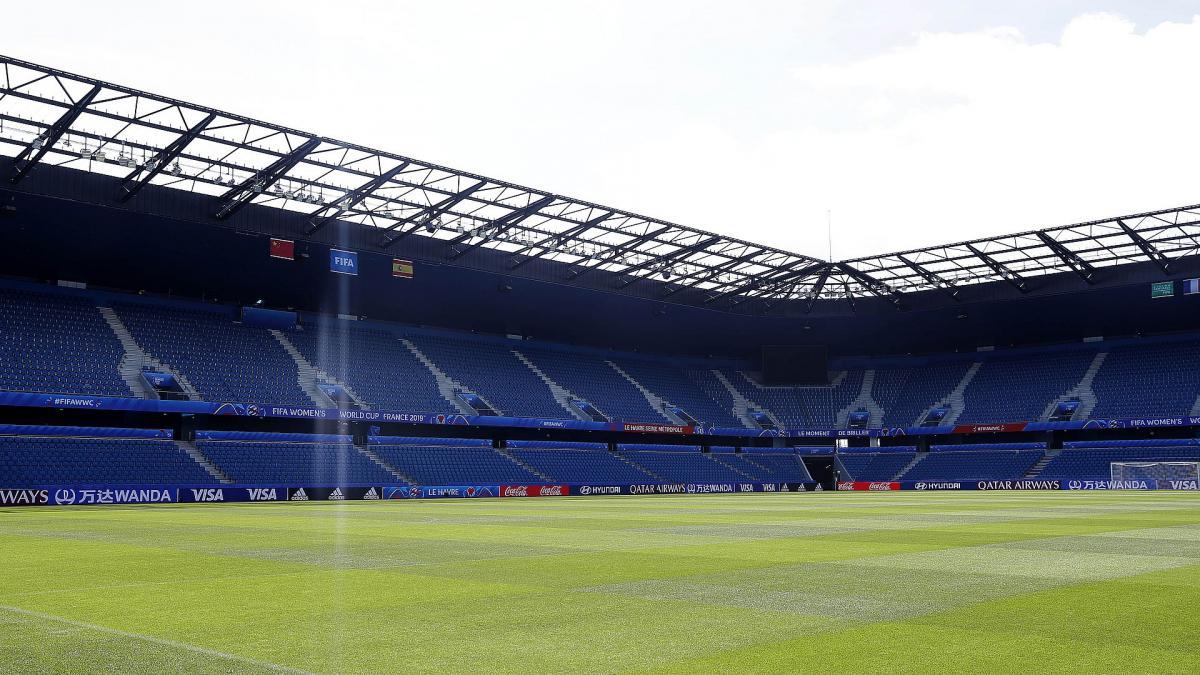 Le Stade Océane où officie Le Havre lors de la Coupe du monde féminine 2019
