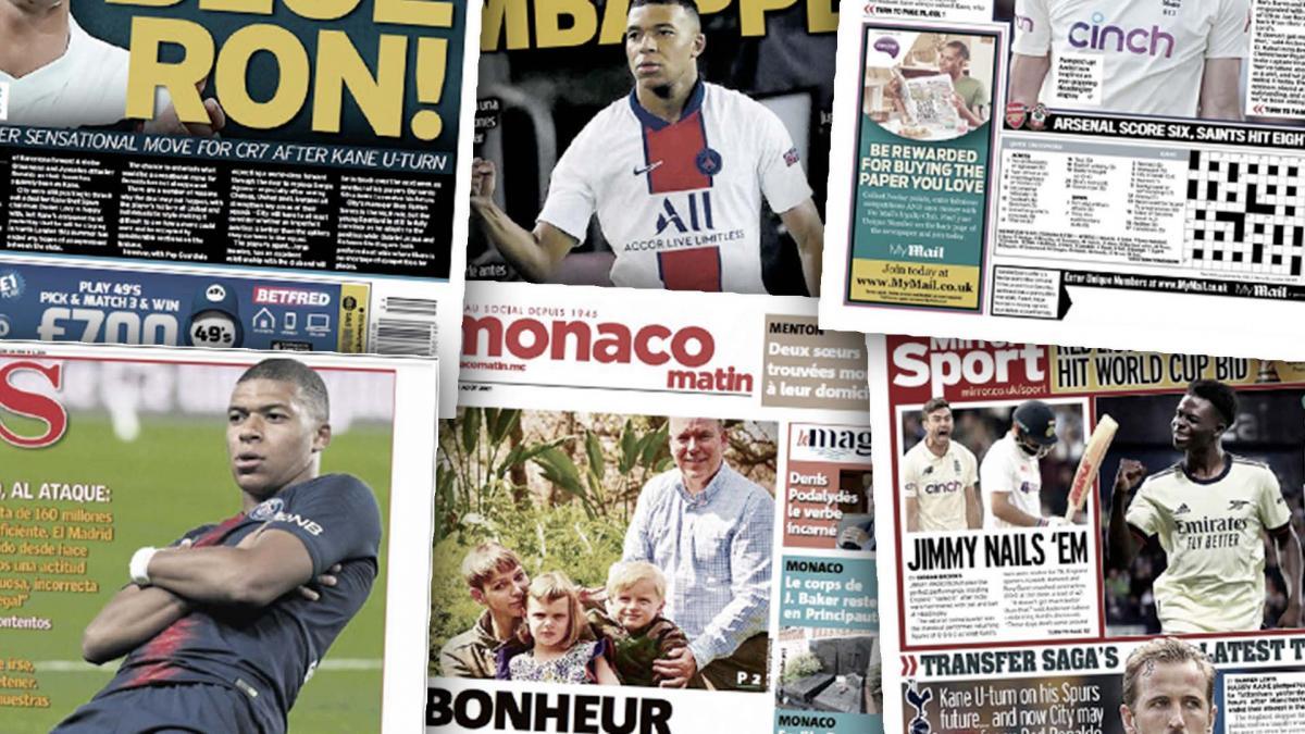 La presse européenne en folie après les propos de Leonardo sur le cas Kylian Mbappé, le FC Barcelone offre une dernière chance à Philippe Coutinho et Samuel Umtiti