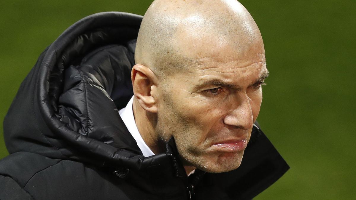 Zinédine Zidane n'approuve pas les propos de Pablo Longoria