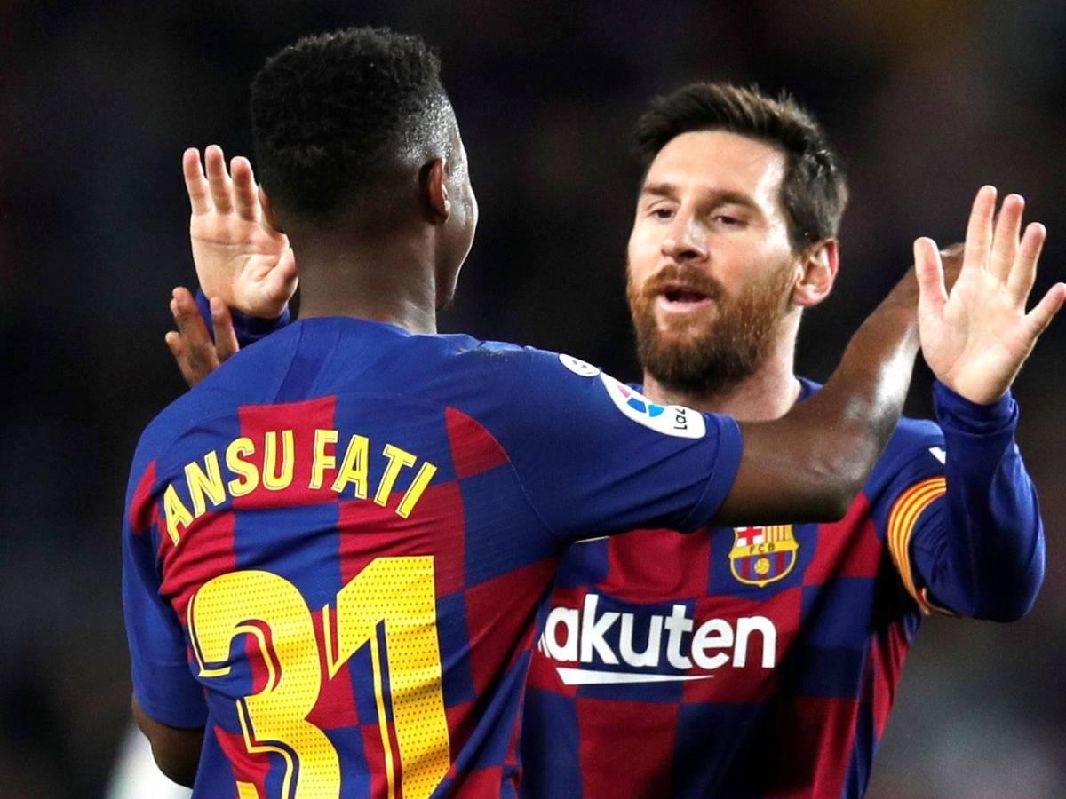 Barça : le plan de la famille Messi pour Ansu Fati