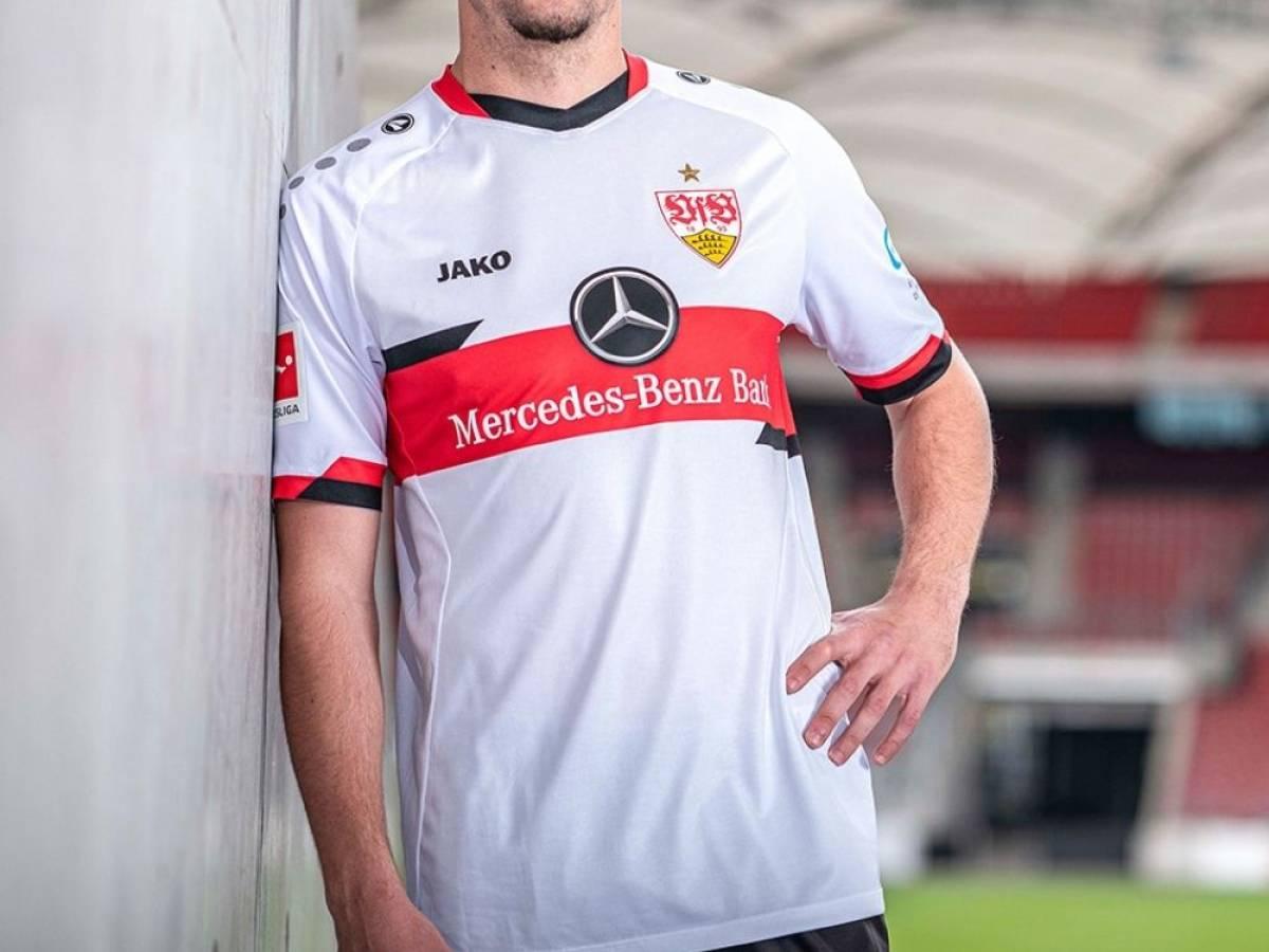 JAKO VfB Stuttgart dehors Maillot adultes avec et sans Flock 2020//21 Noir