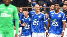 Ligue 1 : les Verts coulent à Strasbourg, Rennes balaye Metz