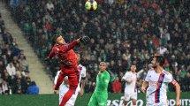 Ligue 1 : réduit à dix, l'OL concède le nul lors du derby