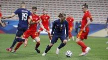 Amical : l'équipe de France domine facilement le Pays de Galles