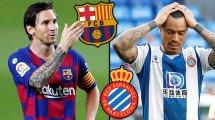 FC Barcelone-Espanyol : les compositions officielles
