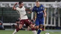 Serie A : l'AS Roma perd contre le Hellas Vérone sur tapis vert