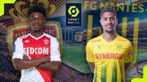 AS Monaco - FC Nantes : les compositions sont là