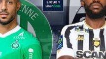 Saint-Étienne - Angers : les compositions officielles