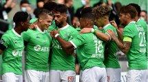 Le groupe de Saint-Étienne pour affronter l'OL