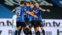 Serie A : la Lazio renversée par l'Atalanta, la Roma entretient son rêve de C1