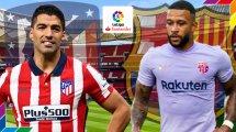 Atlético - FC Barcelone : les compositions officielles