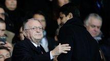 PSG-OL : Jean-Michel Aulas et Peter Bosz s'en prennent à l'arbitrage de Clément Turpin