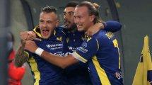 Serie A : l'Hellas Vérone domine Benevento