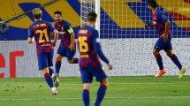 FC Barcelone - Naples : les notes du match